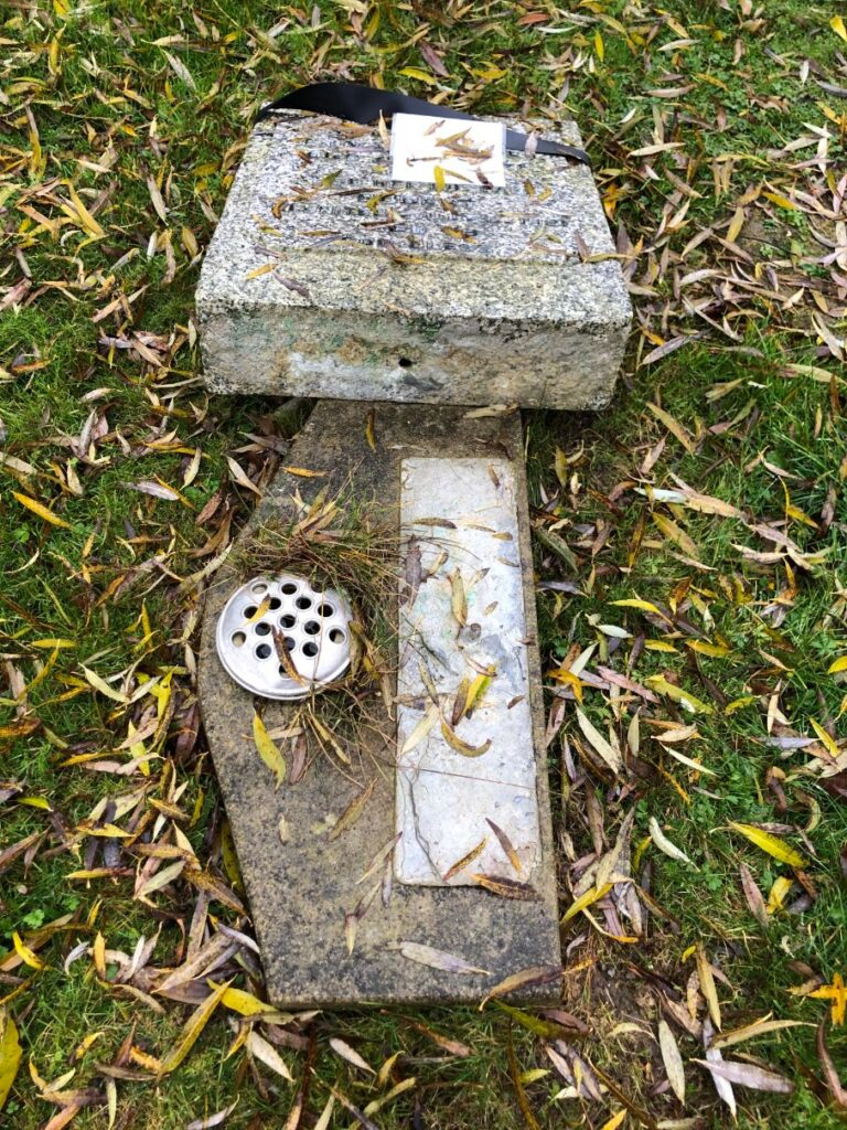 headstone subsidence insurance